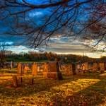 Gravestones in Warrington